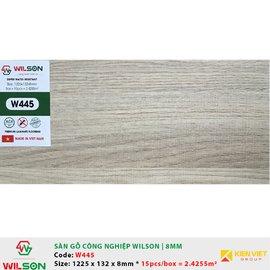 Sàn gỗ công nghiệp Wilson W445 | 8mm