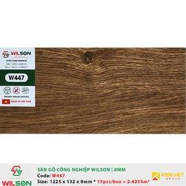Sàn gỗ công nghiệp Wilson W447 | 8mm