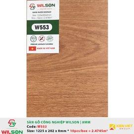 Sàn gỗ công nghiệp Wilson W553 | 8mm