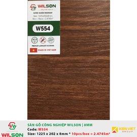Sàn gỗ công nghiệp Wilson W554 | 8mm