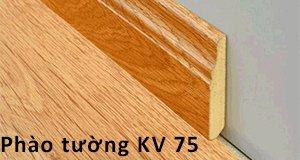Len (phào) tường nhựa KV75