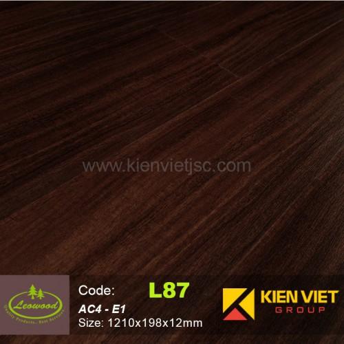 Sàn gỗ công nghiệp Thái lan Leowood L87 | 12mm