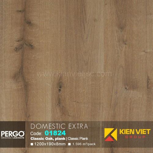 Sàn gỗ Pergo Domestic Extra 01824 | 8mm