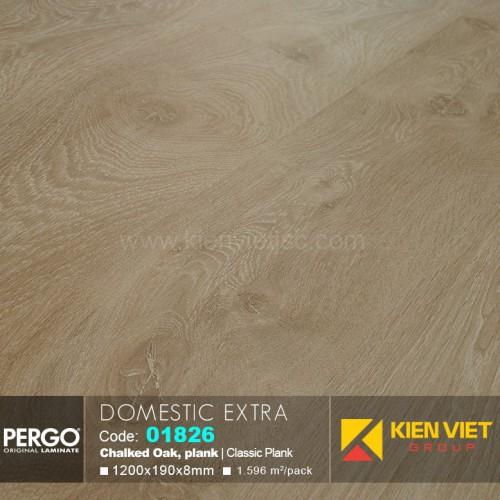 Sàn gỗ Pergo Domestic Extra 01826 | 8mm