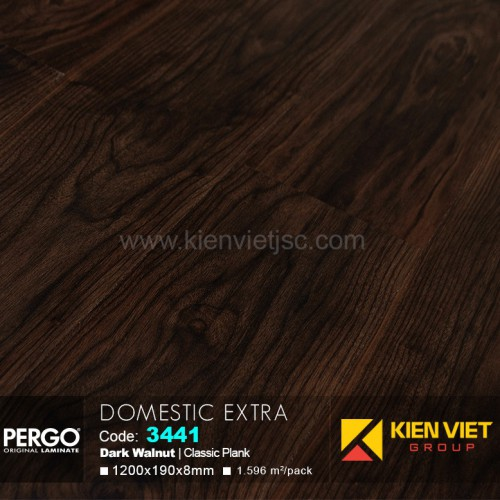 Sàn gỗ Pergo Domestic Extra 3441 | 8mm