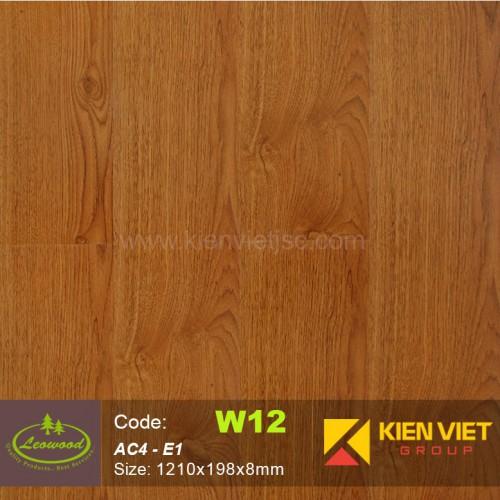 Sàn gỗ công nghiệp Thái lan Leowood W12 AC4 | 8mm