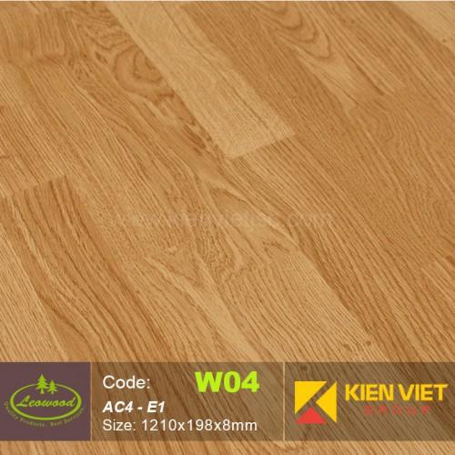 Sàn gỗ công nghiệp Thái lan Leowood W04 AC4 | 8mm
