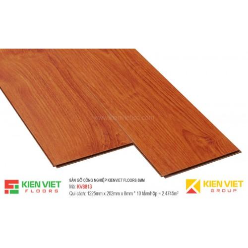 Sàn gỗ Kienviet Floor KV8813 hèm V | 8mm