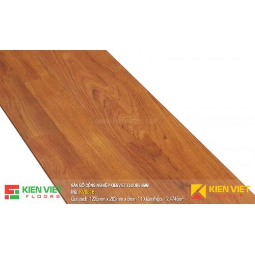 Sàn gỗ Kienviet Floor KV8816 hèm V | 8mm