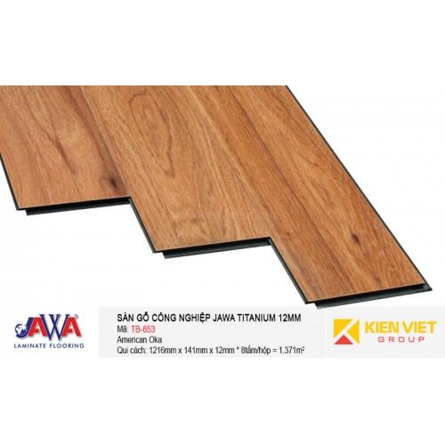 Sàn gỗ Jawa Titanium TB-653 | 12mm