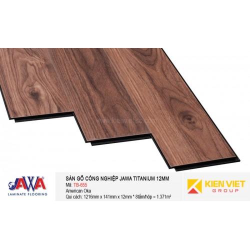 Sàn gỗ Jawa Titanium TB-655   12mm