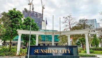 Thi công hệ trần nhựa PVC cho dự án Sunshine City Tây Hồ