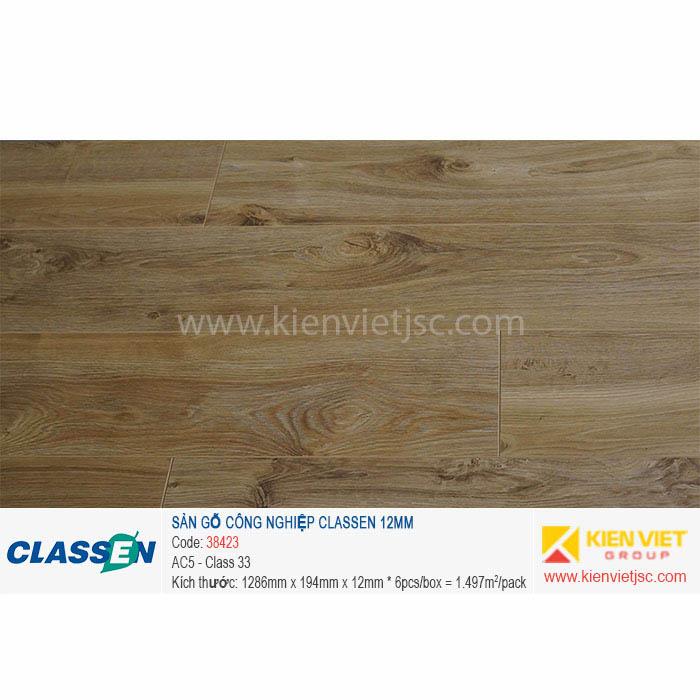 Sàn gỗ Classen AC5 38423 | 12mm