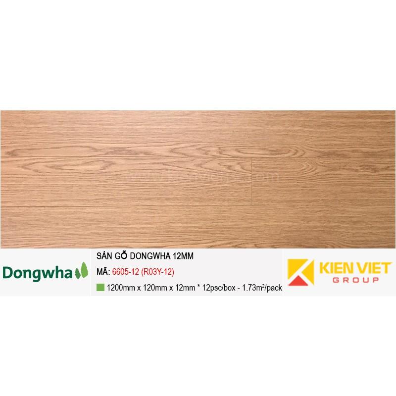 Sàn gỗ Dongwha 6605-12 (R03Y-12)   12mm