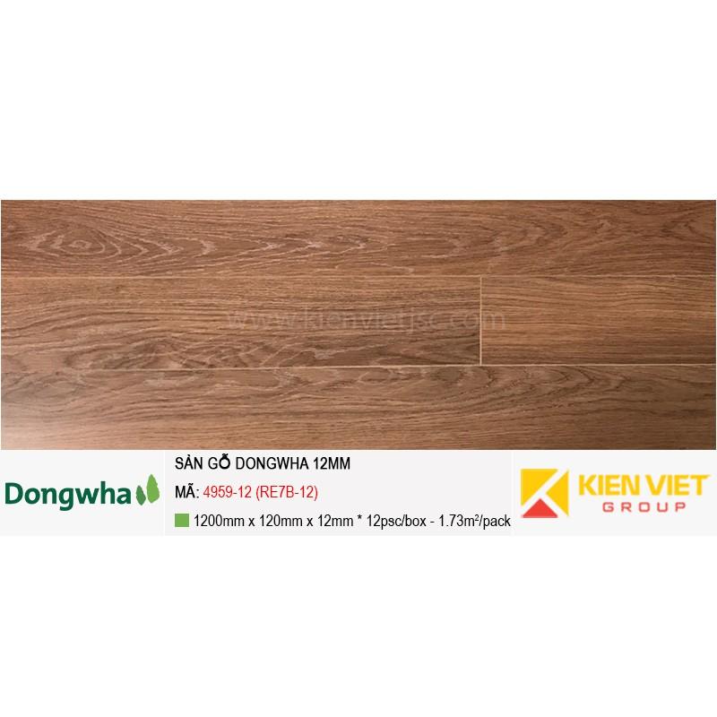 Sàn gỗ Dongwha 4959-12 (RE7B-12) | 12mm