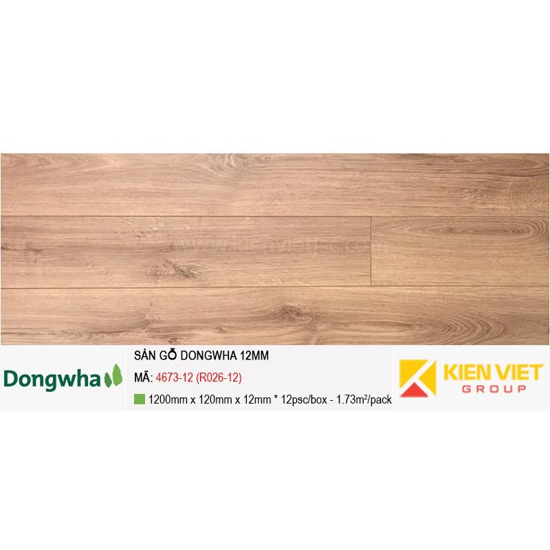 Sàn gỗ Dongwha 4673-12 (R026-12) | 12mm
