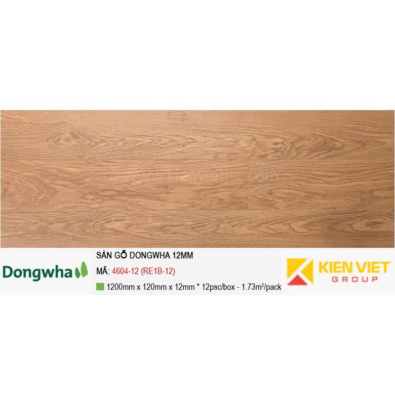 Sàn gỗ Dongwha 4604-12 (RE1B-12) | 12mm