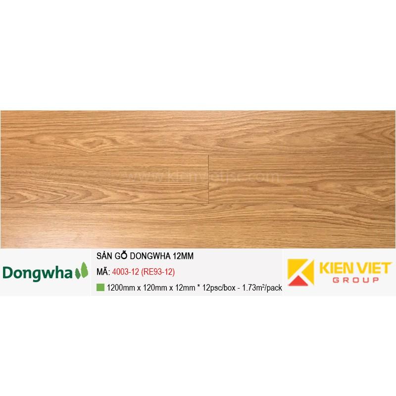 Sàn gỗ Dongwha 4003-12 (RE93-12) | 12mm