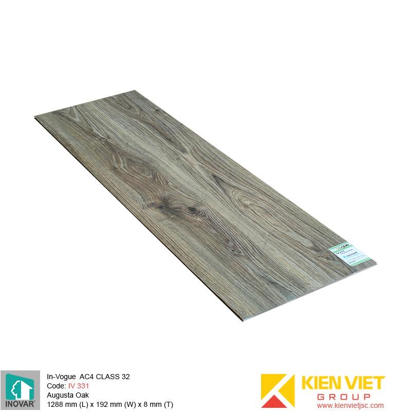 Sàn gỗ Inovar InVouge IV331 Augusta Oak | 8mm