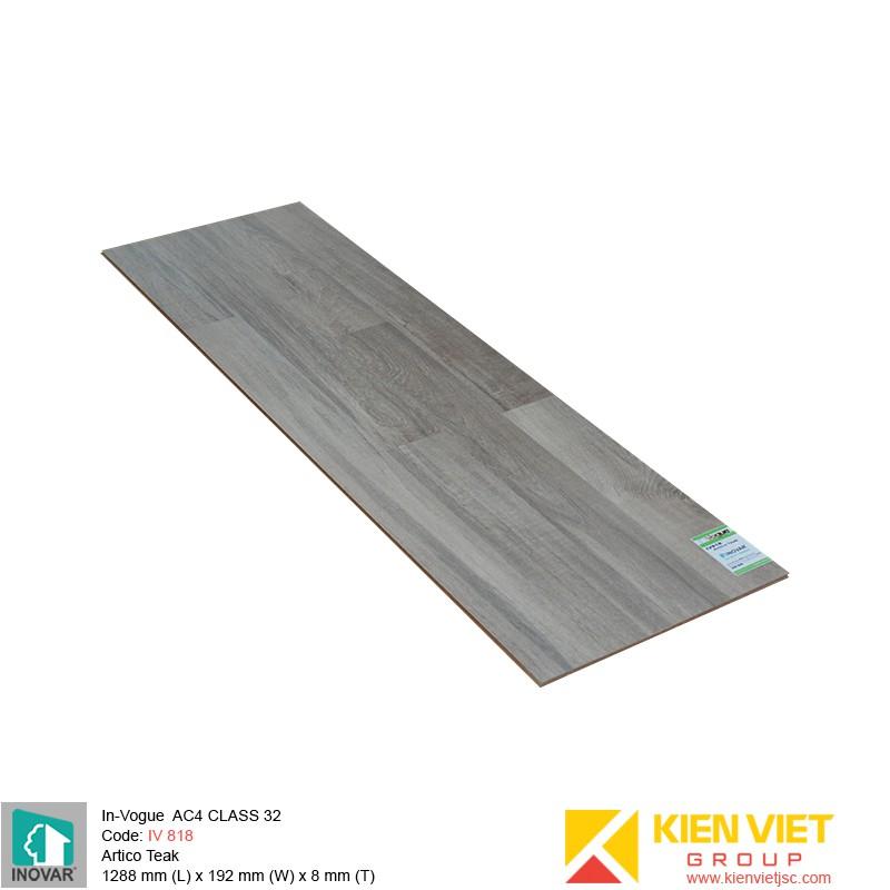 Sàn gỗ Inovar InVouge IV818 Artico Teak | 8mm