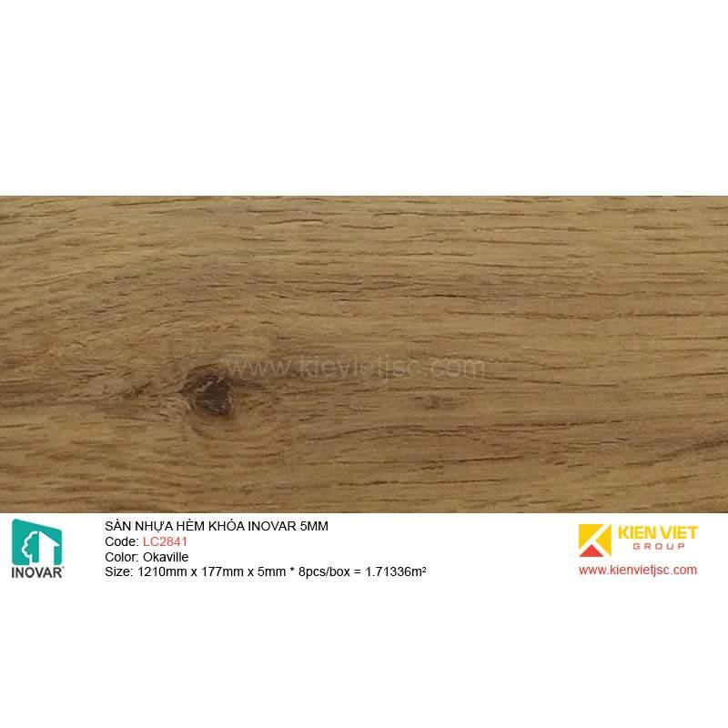 Sàn nhựa hèm khóa Inovar LC2841 OkaVille | 5mm