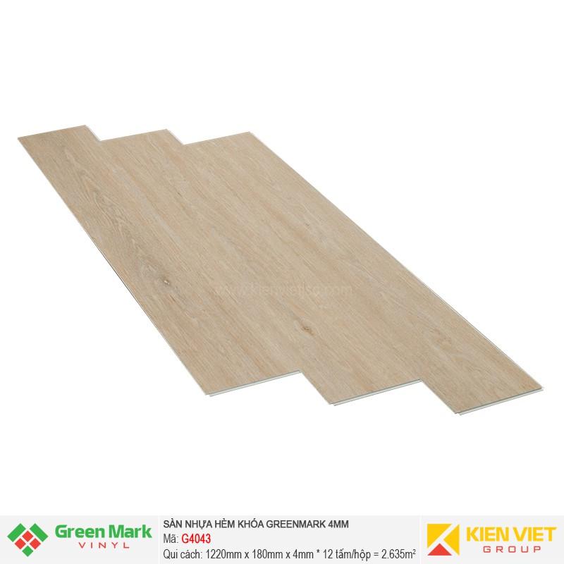 Sàn nhựa hèm khóa Green Mark G4043 | 4mm