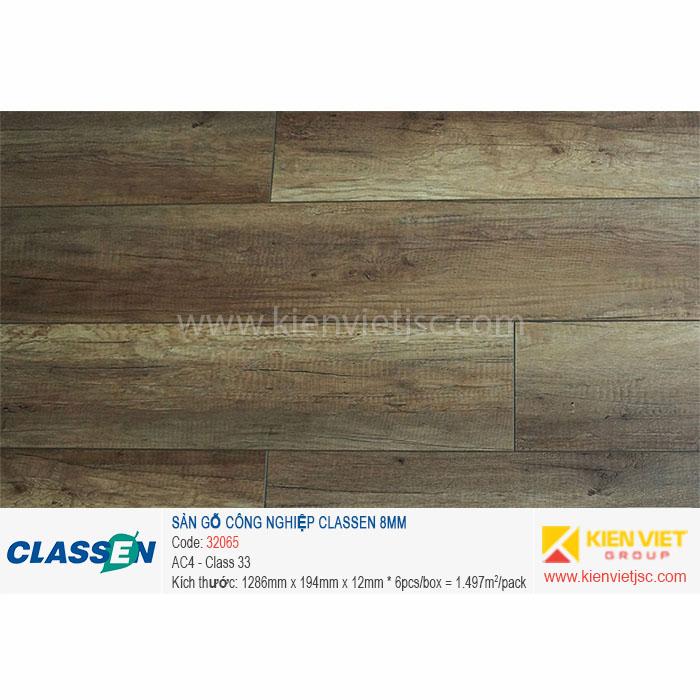 Sàn gỗ Classen AC4 32065 | 8mm
