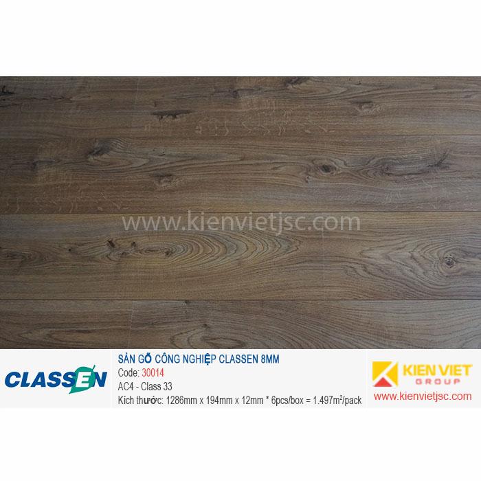 Sàn gỗ Classen AC4 30014 | 8mm