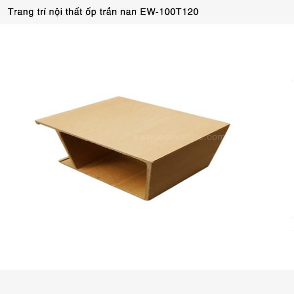 Trang trí nội thất ốp trần nan | EW - 100T120