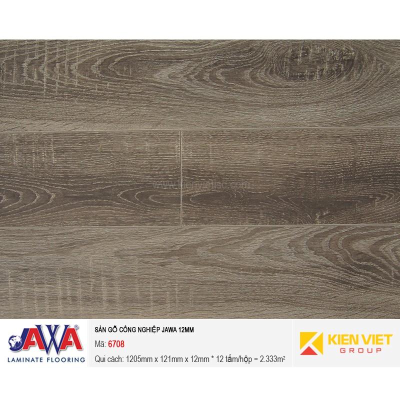 Sàn gỗ công nghiệp JAWA - 6708 | 12mm