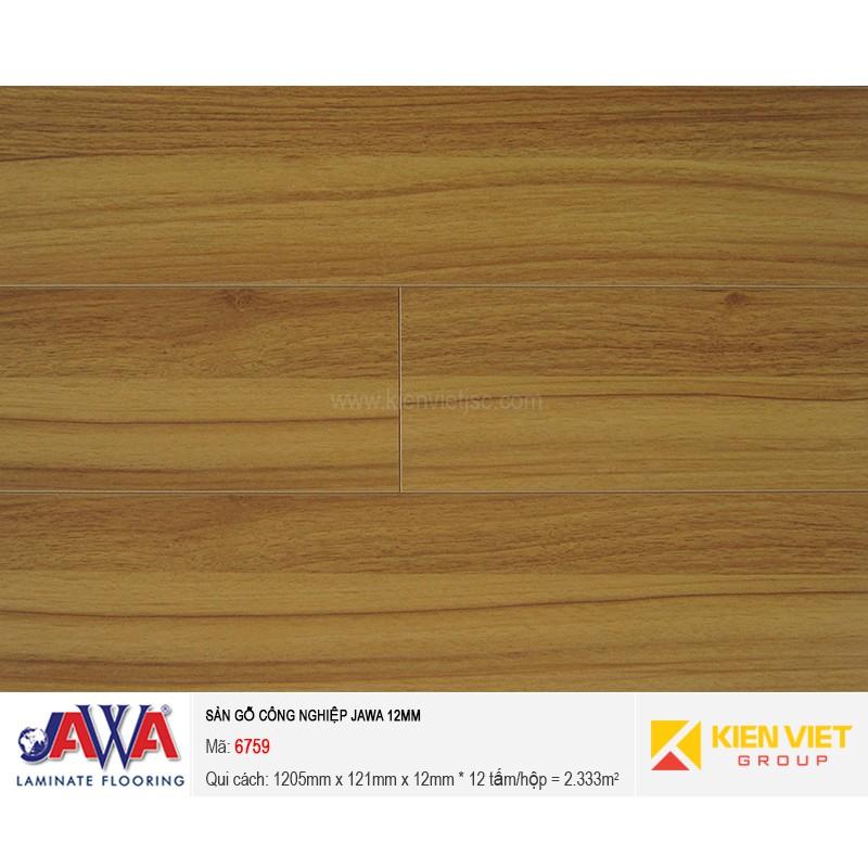 Sàn gỗ công nghiệp JAWA - 6759 | 12mm