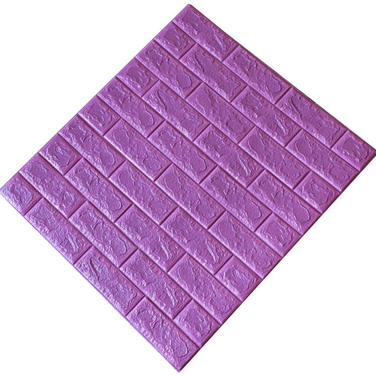 Tấm ốp tường xốp 3D tím đậm | TĐ17