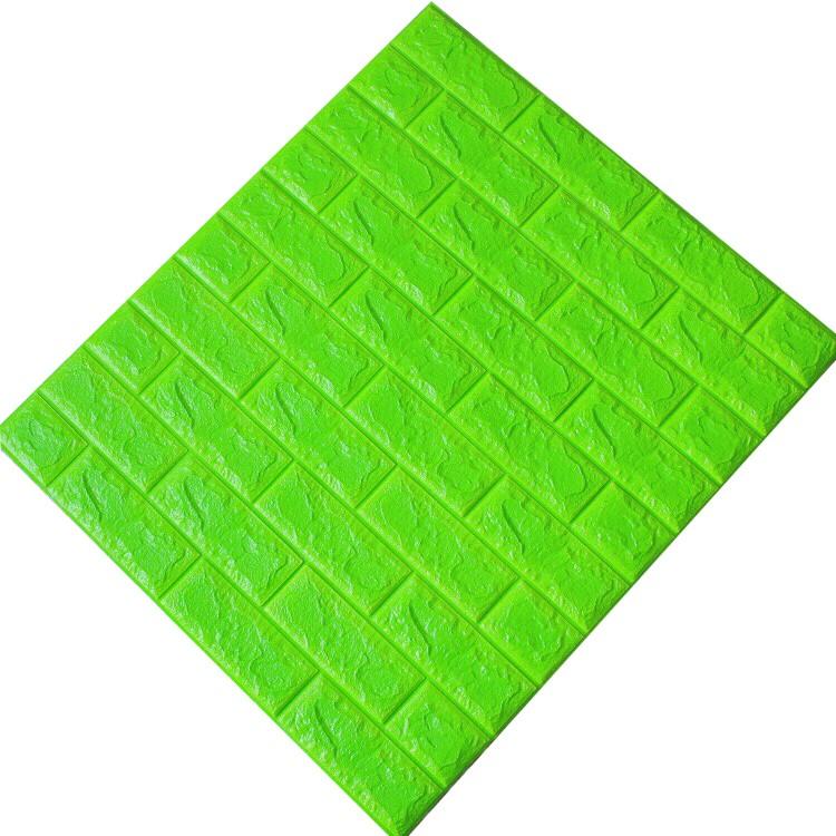 Tấm ốp tường xốp 3D xanh cốm | XC9