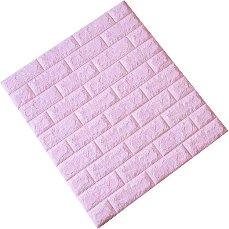 Tấm ốp tường xốp 3D hồng nhạt | HN6