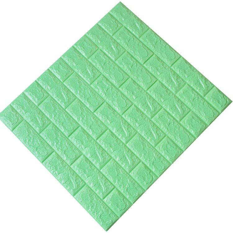 Tấm ốp tường xốp 3D xanh lơ | XL5
