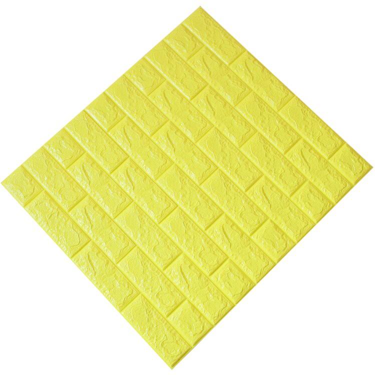 Tấm ốp tường xốp 3D vàng chanh | VC4