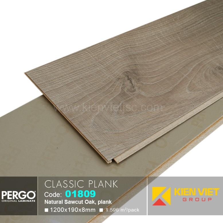 Sàn gỗ Pergo Classic Blank 01809 | 8mm