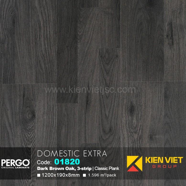 Sàn gỗ Pergo Domestic Extra 01820 | 8mm