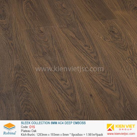 Sàn gỗ Robina architect collection O15 Plateau Oka | 8mm