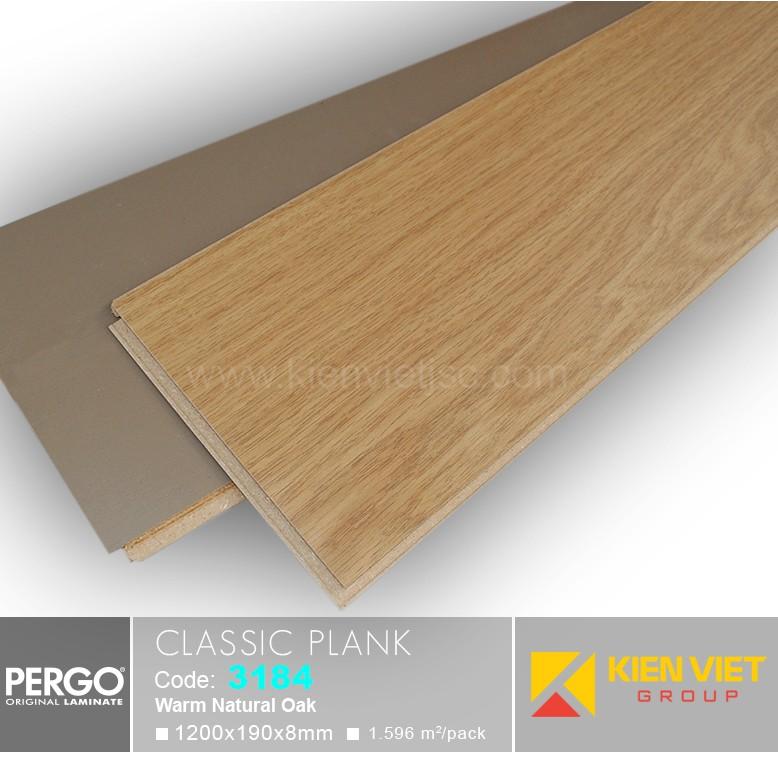 Sàn gỗ Pergo Classic Blank 3184 | 8mm
