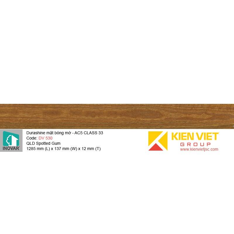 Sàn gỗ Inovar Durashine DV530 QLD Spotted Gum   12mm