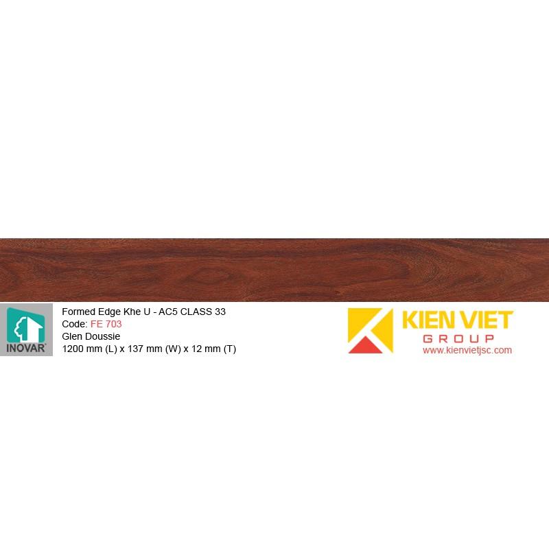 Sàn gỗ Inovar Formed Edge FE703 Glen Doussie   12mm