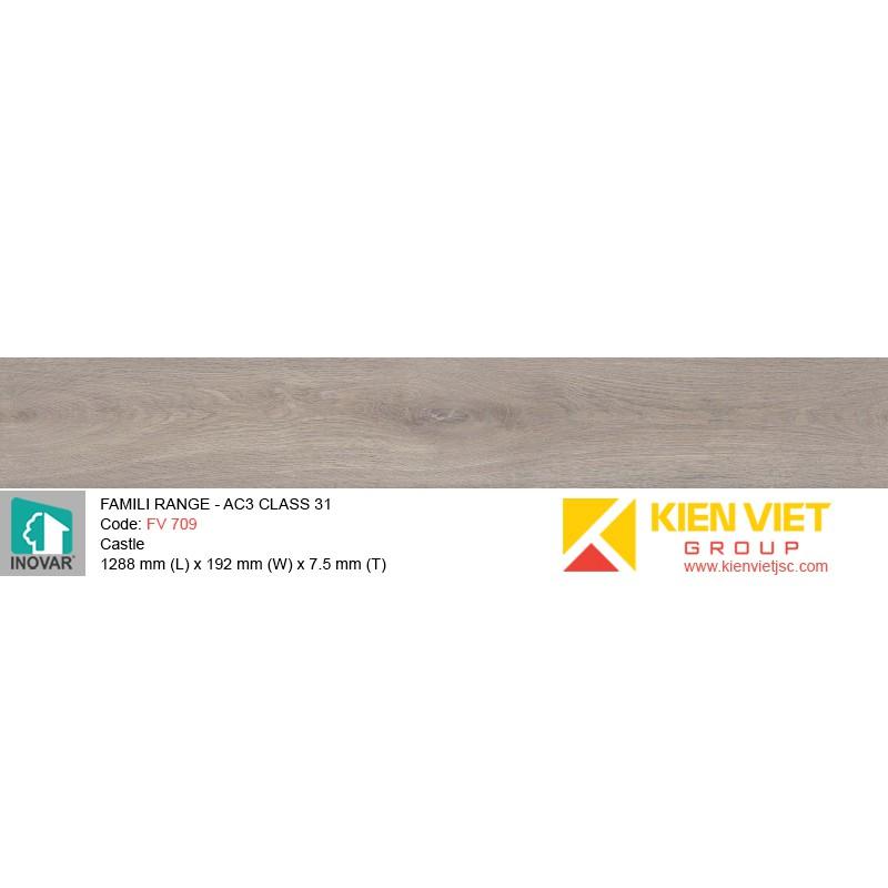 Sàn gỗ Inovar Famili Range FV709 Castle | 7.5mm