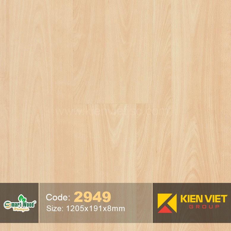 Sàn gỗ Smartwood AC3 2949 | 8mm