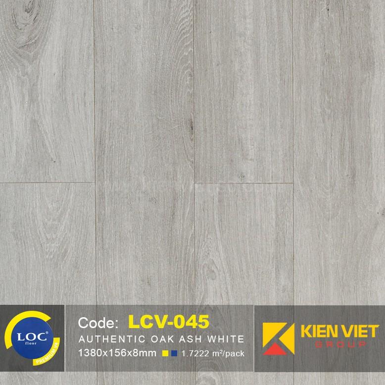 Sàn gỗ Bỉ Loc LCV045   8mm