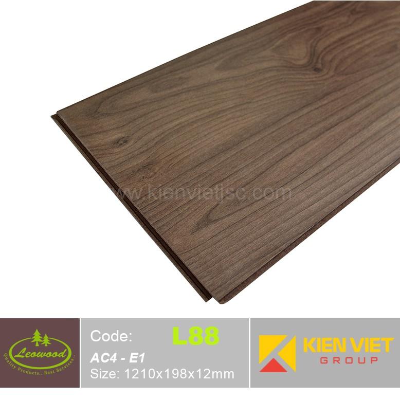 Sàn gỗ công nghiệp Thái lan Leowood L88 | 12mm