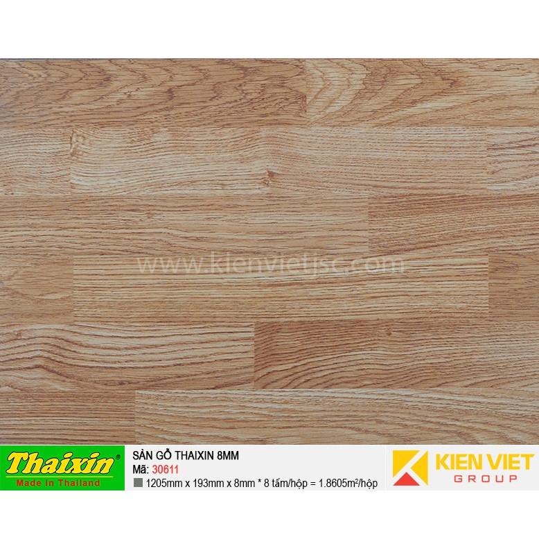 Sàn gỗ công nghiệp Thaixin 30611 | 8mm