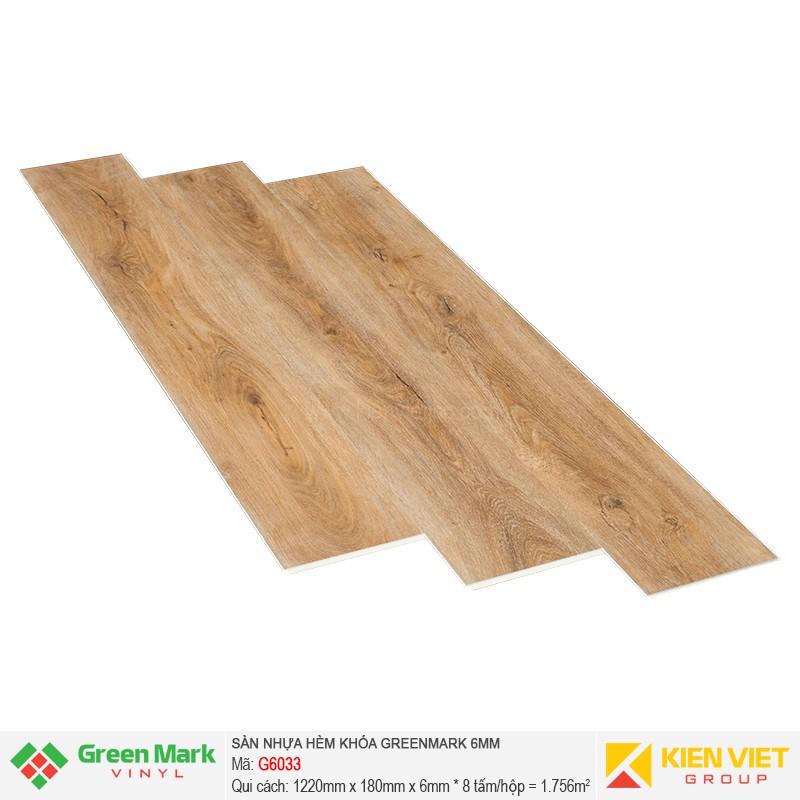 Sàn nhựa hèm khóa Green Mark G6033 | 6mm
