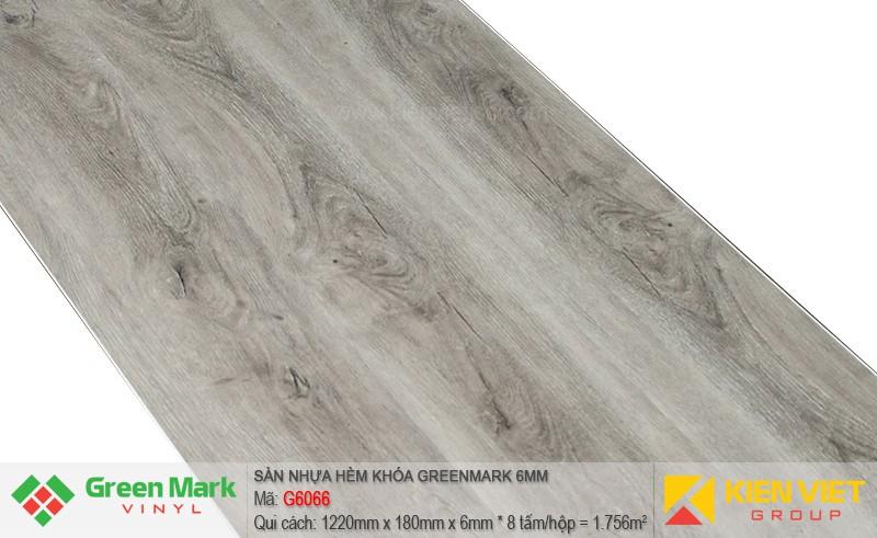 Sàn nhựa hèm khóa Green Mark G6066 | 6mm