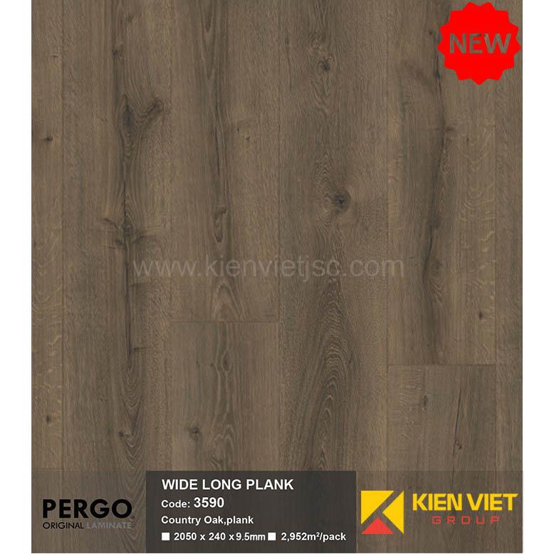 Sàn gỗ Pergo Wide Long Blank 3590 | 9.5mm